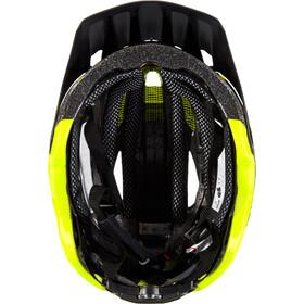 Alpina Garbanzo Casco, black-neon-yellow